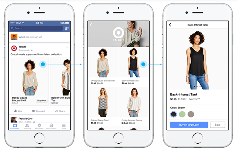 facebook canvas ad experience