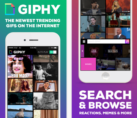 giphy ios app