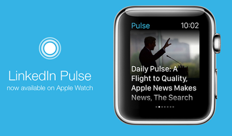linkedin pulse for apple watch
