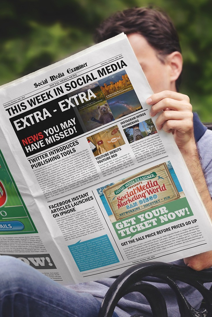 social media examiner weekly news october 24 2015