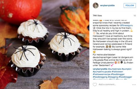 veryerrylottie #blogging instagram