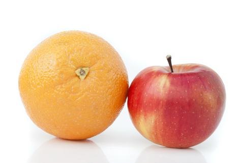 orange apple image shutterstock 143249572