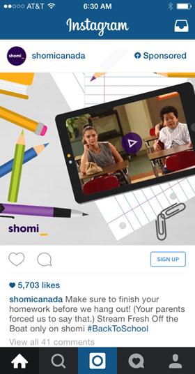 shomicanada instagram ad