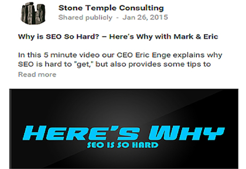stone temple consulting facebook ad