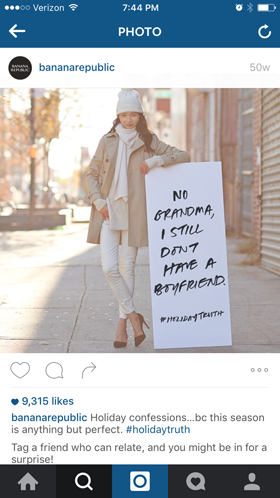 bananarepublic fan instagram hashtag
