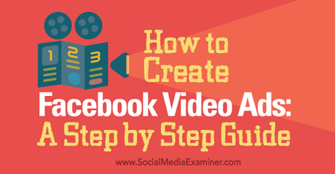 facebook video ads guide