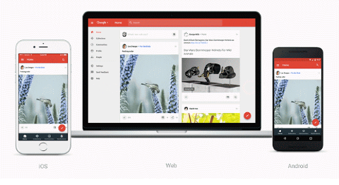google plus relaunch