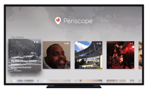 periscope on apple tv