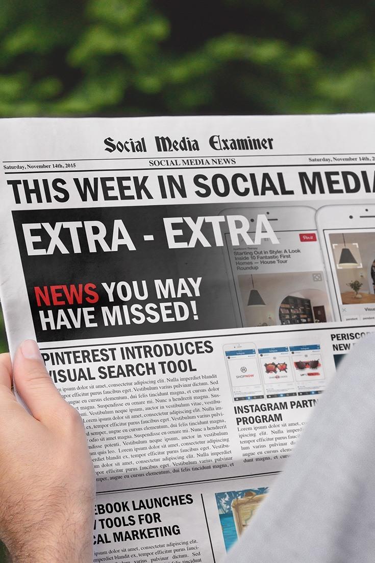 social media examiner weekly news november 14 2015