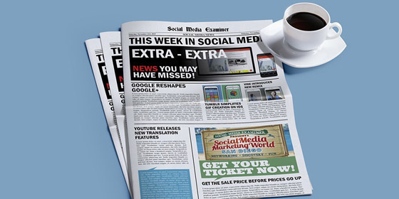 Google Reshapes Google+: This Week in Social Media
