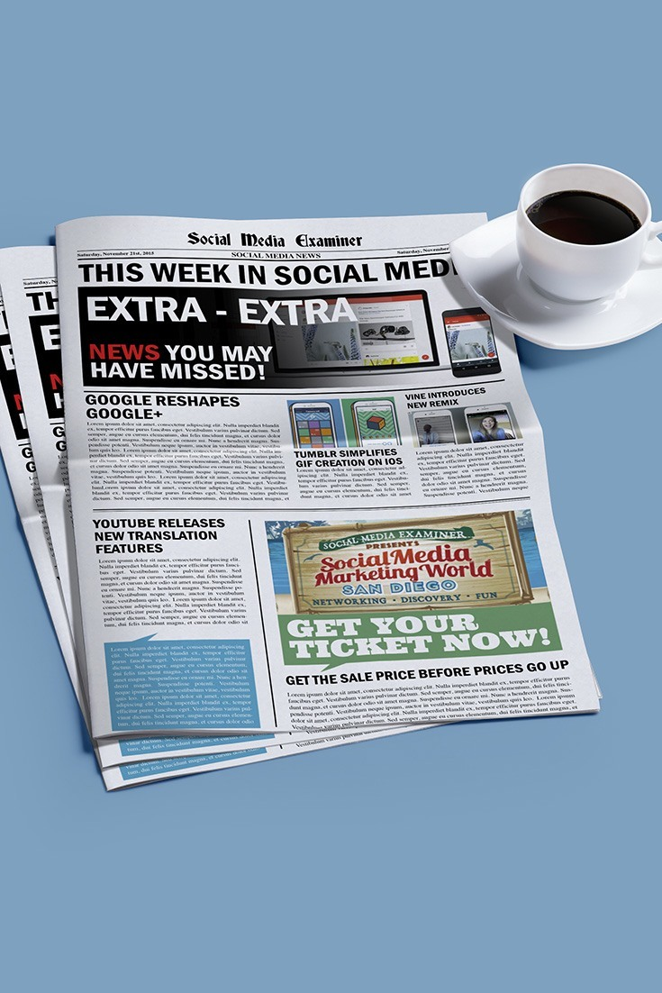 social media examiner weekly news november 21 2015