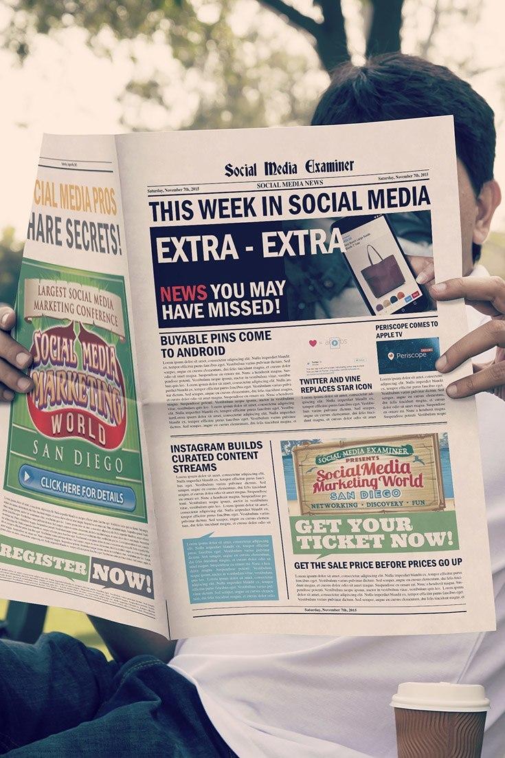 social media examiner weekly news november 7 2015