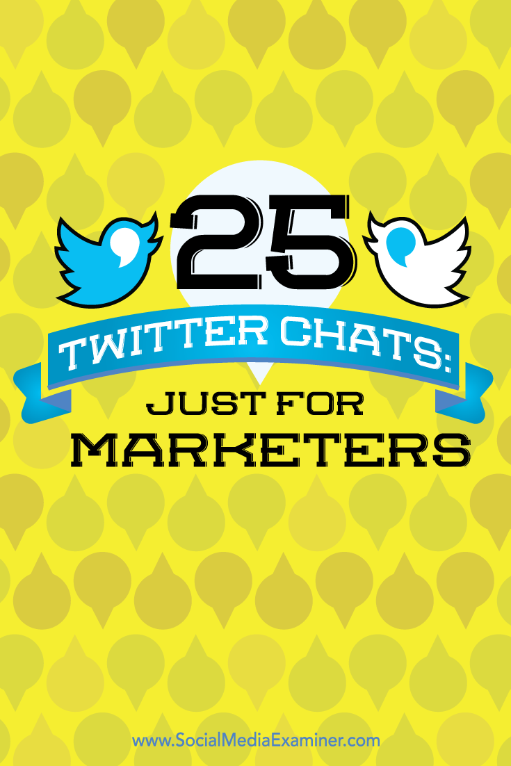 twitter chats for marketers