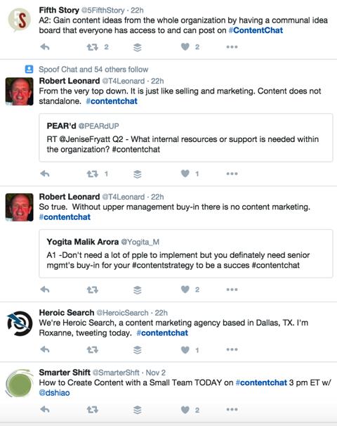 contentchat tweets