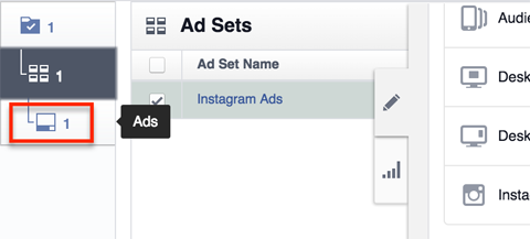 instagram ad settings