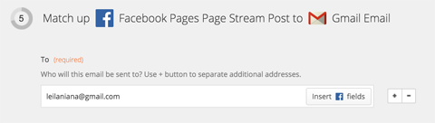 configure task options