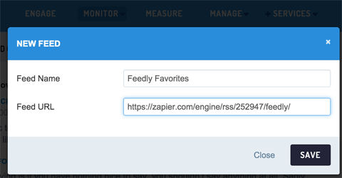 adding custom rss feed to sendible