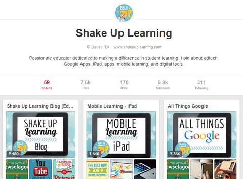 shake up learning on pinterest
