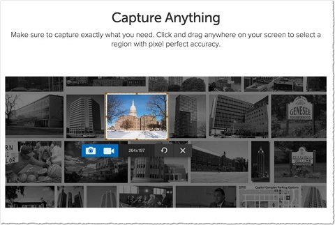 snagit capture anything feature