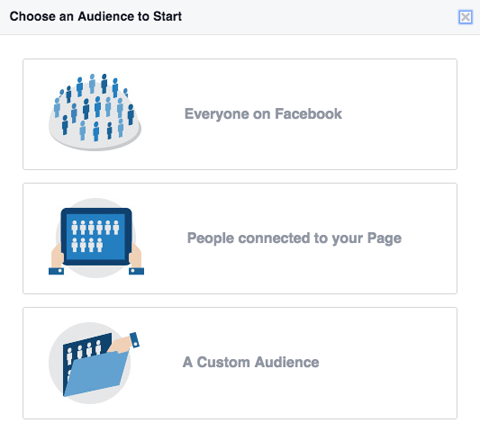 audience insights selection