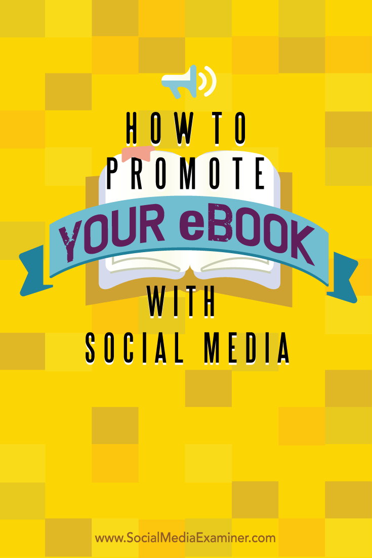 how to promote your ebook on social media