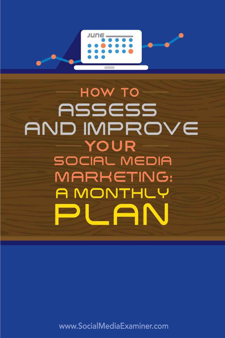 how to assess your social media marketing monthly