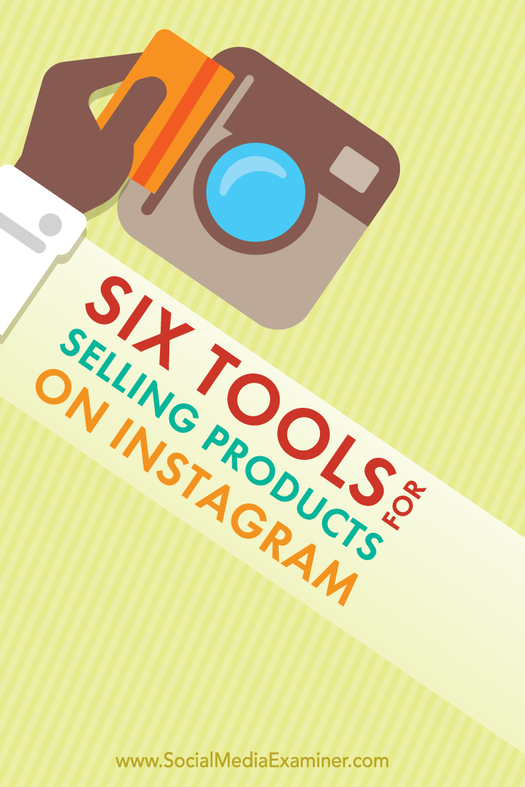 tools for selling on instragram