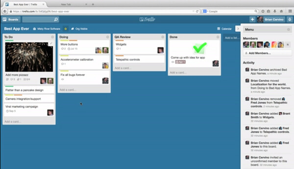trello board example