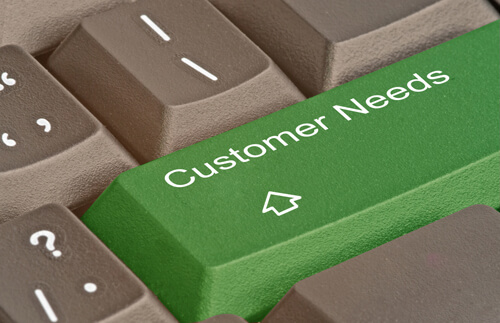 customer needs image shutter stock 19450945