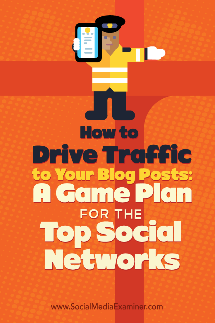 how to drive traffic to your blog from top social networks