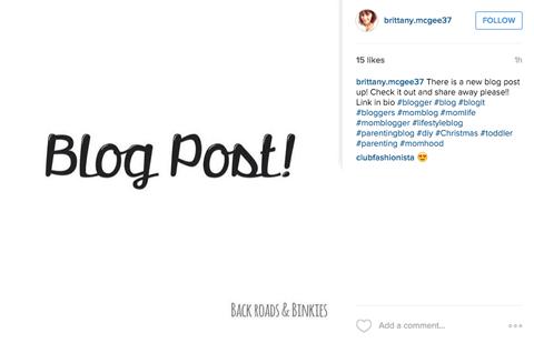 instagram image post