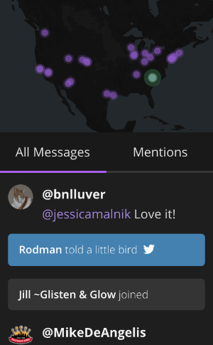 blab map feature