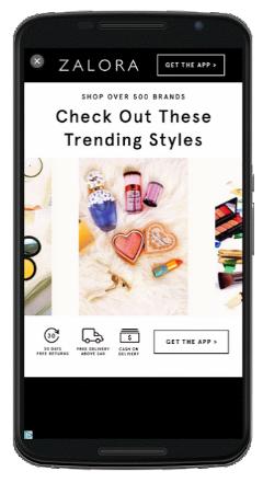 googleinteractive interstitial ads on mobile