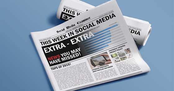 Facebook and YouTube Lead Mobile App Usage in 2015: This Week in Social Media