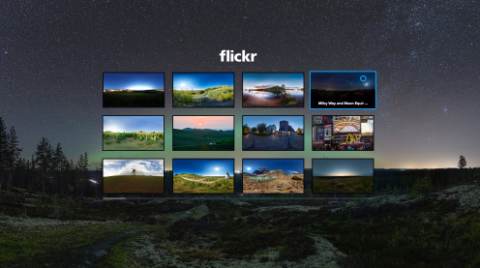 flickr 360-degree photos