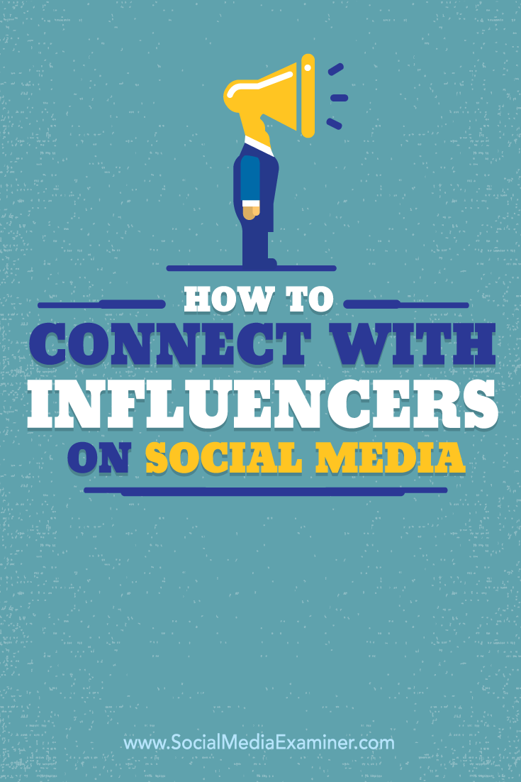 how to connect with influencers