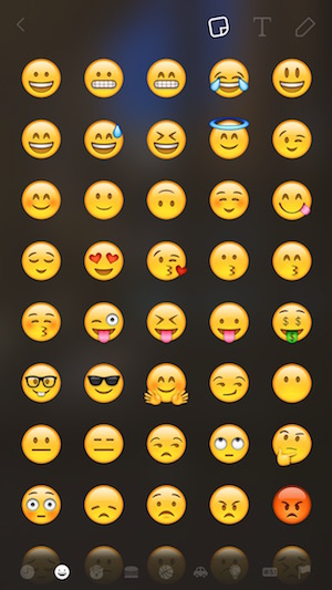 add emojis to your image