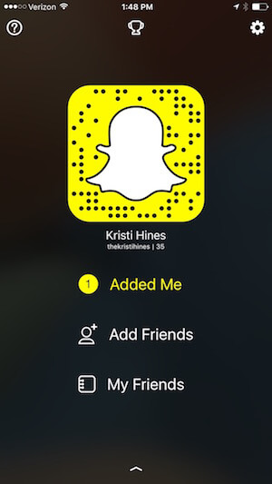 see who snapchat added