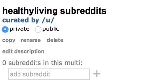 add subreddits to multireddit