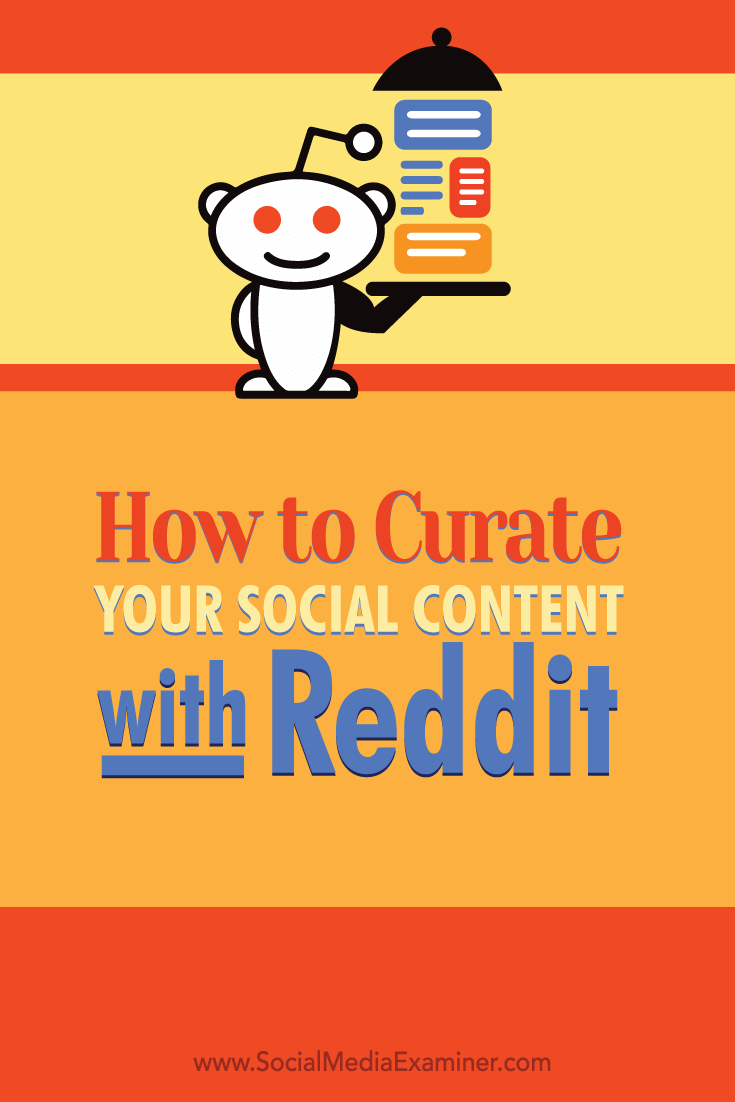 curate content with reddit