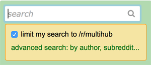 search multireddits