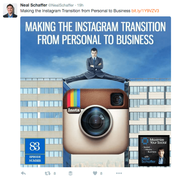 publicize content on social