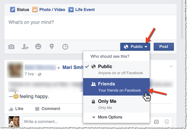 Change Facebook Event From Invite Only To Public ...