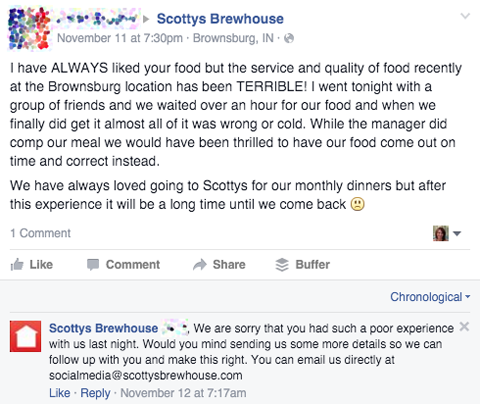 scotty's comment response