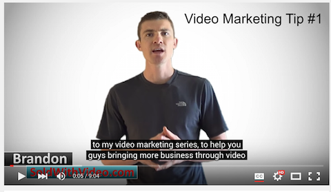 sold with video youtube keywords in subtitles