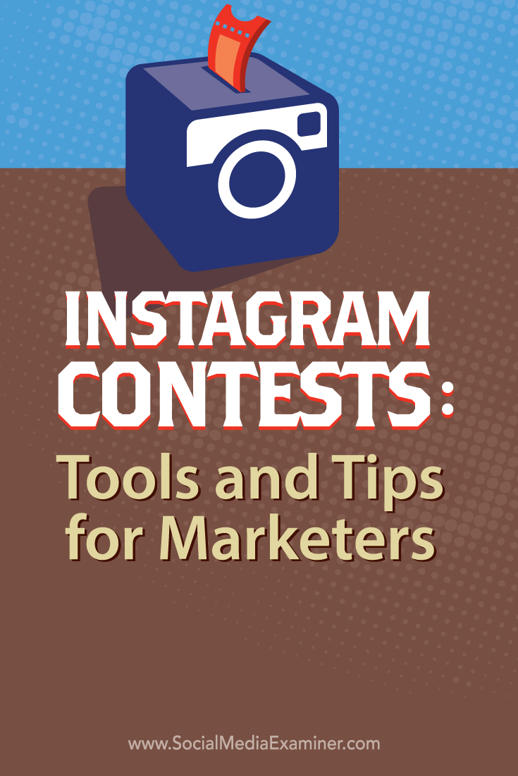 marketing through instagram contests
