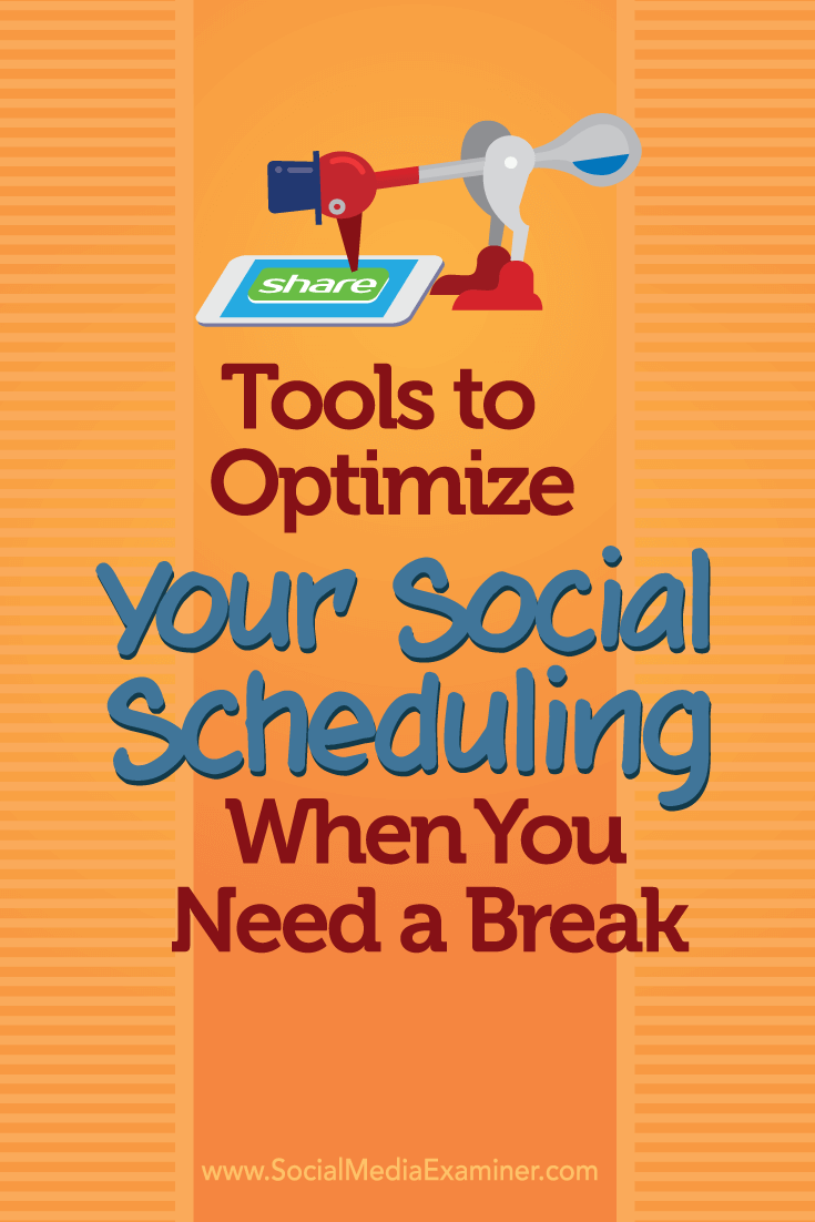 scheduling your social media content