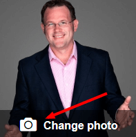 change linkedin in profile photo feature