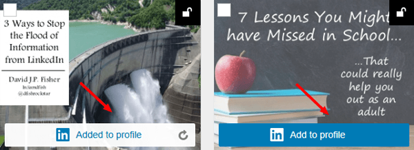 adding slideshare to linkedin profile