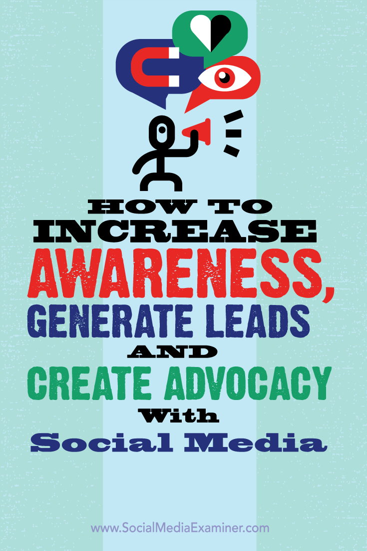 social media marketing in brand awareness, leads and advocacy
